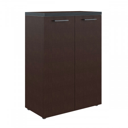 Шкаф средний Torr ТМС85.1, закрытый, 2 двери, 856*450*1203, Венге Магия, ТМС85+ТМD42-2+TP85