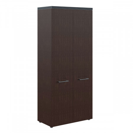 Шкаф для одежды Torr TCW 85, 2 двери, 856*450*1968, Венге Магия, TCW85-1+THD42-2+TP85