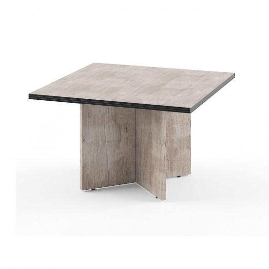 Стол для переговоров Torr ТСТ1212, 1200*1200*750, Дуб Каньон