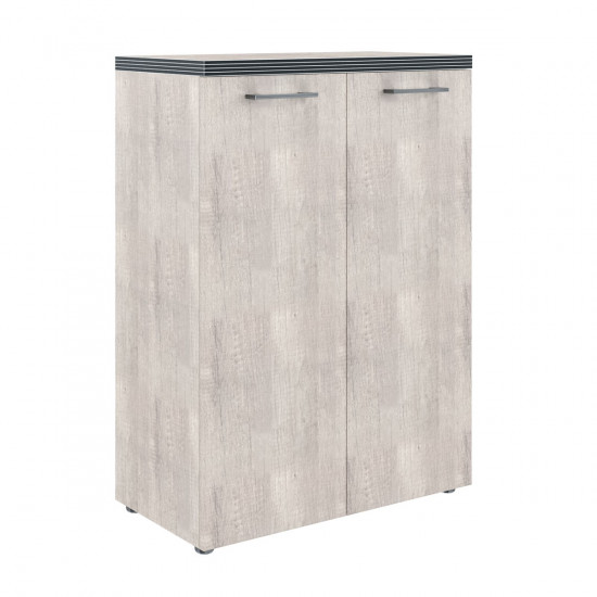 Шкаф средний Torr ТМС85.1, закрытый, 2 двери, 856*450*1203, Дуб Каньон, ТМС85+ТMD42-2+TP85