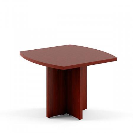 Стол для переговоров Born В123, 1000*1000*750, Бургунди