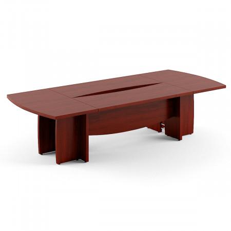 Стол для переговоров Born В122, 3000*1300*750, Бургунди