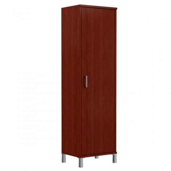 Шкаф для одежды Born В703.1, узкий, 600*450*2054, Бургунди, В703+В531+В880+Uz40-100-4
