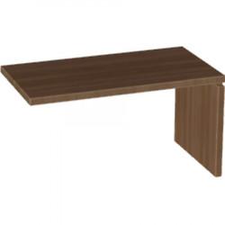 Стол приставной Милан МЛ-1.5, 1400*750*760, орех табак