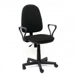 Кресло офисное Престиж Profi В-14 Самба ткань черная