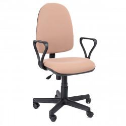 Кресло офисное Престиж Profi В-04 Самба ткань светло-коричневая