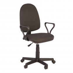 Кресло офисное Престиж В-40 Самба ткань серая