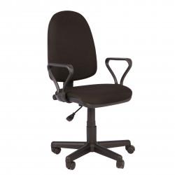 Кресло офисное Престиж В-14 Самба ткань черная