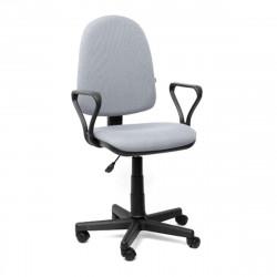 Кресло офисное Престиж В-03 Самба ткань светло-серая