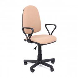 Кресло офисное Престиж В-04 Самба ткань светло-коричневая