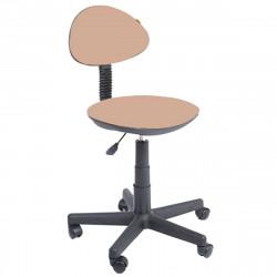Кресло компьютерное детское Логика gts В-04 ткань светло-коричневая (б/п)