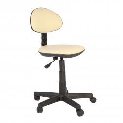 Кресло компьютерное детское Логика gts кожзам бежевый (б/п)