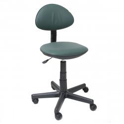 Кресло компьютерное детское Логика gts кожзам зеленый (б/п)