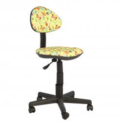 Кресло компьютерное детское Логика gts Т-53 ткань букашки (б/п)