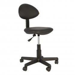 Кресло компьютерное детское Логика gts кожзам черный (б/п)