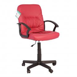Кресло руководителя Чип кожзам бордовый (ультра)