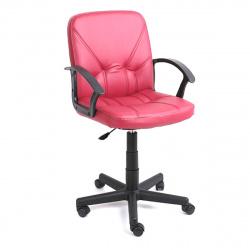 Кресло руководителя Чип 365 кожзам бордовый (ультра)