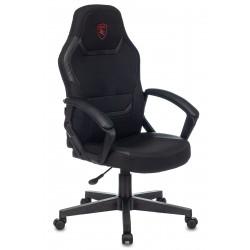 Кресло игровое CH-772N Black+White кожзам черно-белый, 2 подушки