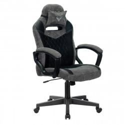 Кресло игровое Viking 6 Knight, ткань черно-серая