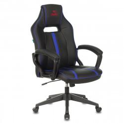 Кресло игровое Viking Zombie A3 Bl кожзам черно-синий