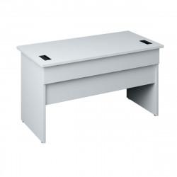 Стол письменный Милано МТ1.28, 1350*680*750, белый, МТ1.28_1+МТ1.28_2