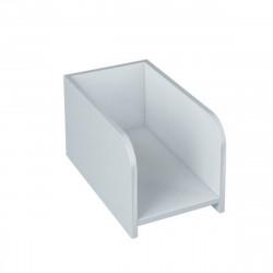 Подставка под системный блок Милано МТ25.28, 260*450*250, белый