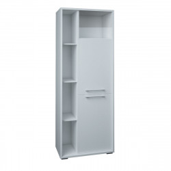Шкаф высокий Милано МТ3.28, 799*450*2090, белый, МТ3.28_1+МТ3.28_2+МТ3.28_3