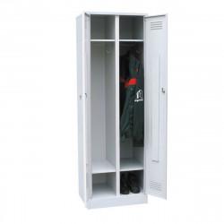Шкаф для одежды ШРМ-22с, сварной корпус,1860*600*500 мм