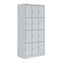 Шкаф для одежды ШРМ-312, 12 секций, 1860*900*500 мм