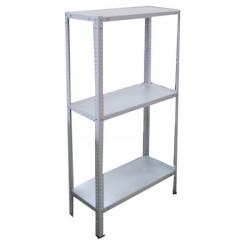 Стеллаж металлический  высота 150 см; 3 полки (700*300)