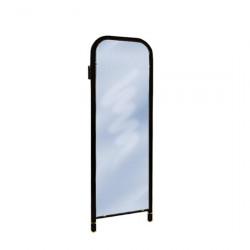 Зеркало настенное (без цветов) черное 420*30*1085