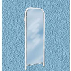 Зеркало настенное (без цветов) белое 420*30*1085