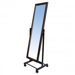 Зеркало напольное В27Н, массив/венге 35*45*138 (зеркало 26*112см)