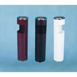 Урна К150Н, для бумаг с пепельницей, D-150, Н-602, объем 10 литров, черный