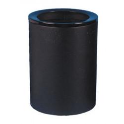 Урна К250, для бумаг, D-250, Н-332, объем 16 литров, черный