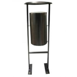 Урна УК1, уличная переворачиваемая, D-404, Н-1175, объем 28 литров, черный