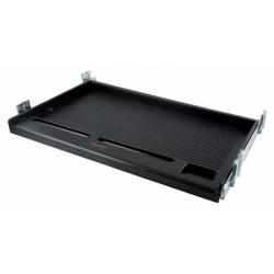 Подставка для клавиатуры Buro KB002B черный подстольная, универсальная