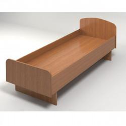 Кровать КР03.9 ЛДСП 1900*740 орех/без матраца