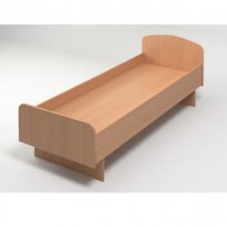 Кровать КР03.10 ЛДСП 1900*740 бук/без матраца
