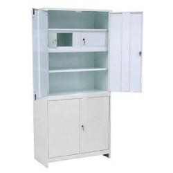 Шкаф медицинский  ШММ-2-Т с трейзером 1680*800*380