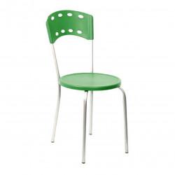 Стул Дикси AL 400*520*860, h470, пластик зеленый