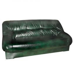 Диван 3-х местный Несси Орегон Антик-41, кожзам зеленый, 1800*900*870 мм