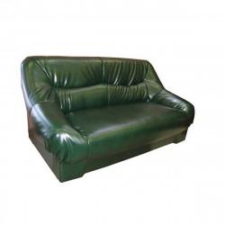 Диван 2-х местный Несси Орегон Антик-41, кожзам зеленый, 1550*900*870 мм
