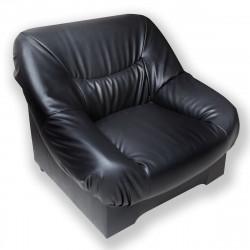 Кресло Несси PV-1, кожзам черный, 940*900*870 мм