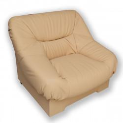 Кресло Несси Орегон-14, кожзам бежевый, 940*900*870 мм