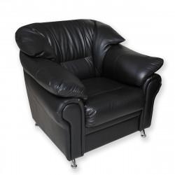 Кресло Нега PV-1, кожзам черный, 1050*950*840 мм