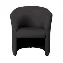 Кресло Club V-14, кожзам черный, 708*658*814 мм