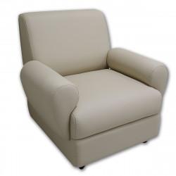 Кресло Matrix М1-2 Орегон-12, кожзам кофе с молоком, 1 категория, 870*810*855 мм