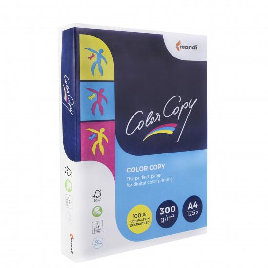 Бумага Mondi Color Copy  А4, 300г/кв.м., 125, белизна CIE 160%, цвет белый 00-00012407