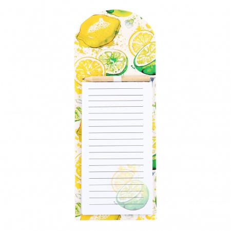 Блок для записей 270*105мм, проклеенный, рисунок, линия, 40л Juicy Lemon КОКОС 212293